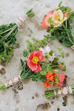 poppy bouquets | Jen Dillender