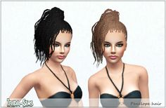 Irida Sim's Penelope Hair (converted for adults) Link: http://irida-sims.blogspot.de/2012/11/penelope-hair.html