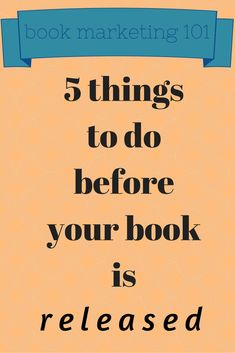 Director of Marketing Hannah Ehrlich suggests five things authors can do while waiting for the release of their books. Book Writing Tips, Writing Quotes, Writing Resources, Writing Help, Writing Prompts, Writing Websites, Memoir Writing, Persuasive Writing, Start Writing