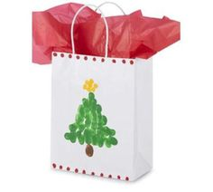 Christmas gift bag for kids to make