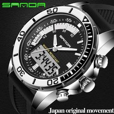 #BlackFriday is coming early #BestPrice #CyberMonday SANDA Luxury Brand Mens Sports Watches Dive men Watches LED Military Watch Men Fashion…