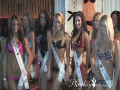 Playboy Intimates hosts thier international model search competition in Dallas, Texas. Check out the sexy ladies at thrive nighclub for Playboy Intimates Top Model. See these beautiful contestants as they battle out for the top spot! See the crowd go wild at some of the hottest parties on the planet. Go to   http://www.playboystore.com/landingpages/landing.php?dept=Playboy