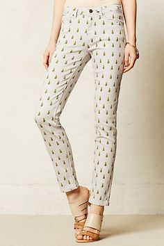 pineapple pants via Anthropologie {love these!}