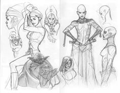 """perpetual-loser: """" Artwork from Adam Hughes' 2005 convention sketchbook How to Draw Boobs and Attract Other Morons """" Comic Book Artists, Comic Book Characters, Comic Artist, Comic Books Art, Adam Hughes, Beautiful Heroine, Frank Cho, Illustrations, Book Illustration"""