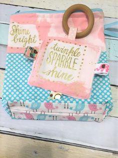 Diaper Bag Baby girl small diaper bag stow and go zipper