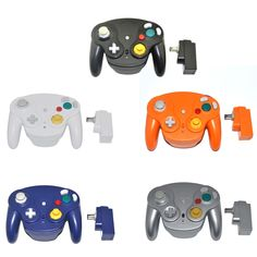 Bluetooth Controller Wireless Gamepad joystick for Nintendo for GameCube for NGC for Wii Nintendo 64, Nintendo Games, Cubes, Wii, Gamecube Games, Game Controller, Play, Consoles, Console