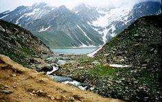 Sheshnag Lake Dedicated to the Serpent God in Jammu and Kashmir.