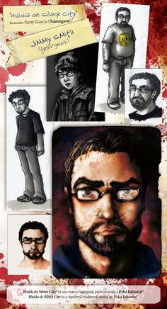 Making of de Jimmy #zombies