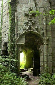 Ideas garden illustration castle for 2019 Abandoned Buildings, Abandoned Castles, Abandoned Mansions, Old Buildings, Abandoned Places, Ancient Buildings, Beautiful Architecture, Beautiful Buildings, Beautiful Places
