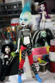 OOAK Monster High Art Doll Repaint by Refabrications
