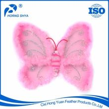 Feather Butterfly Wings, Feather Butterfly Wings direct from Cixi Hong Yuan Feather Products Co. in China (Mainland) Feather Angel Wings, Butterfly Wings, China, Products, Porcelain, Gadget
