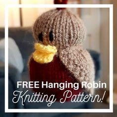 Christmas Tree Knitting Pattern, Owl Knitting Pattern, Knitting Patterns Free, Free Knitting, Knitting Yarn, Knit Patterns, Quick Knits, Knitting Projects, Knitting Ideas