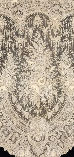 One of the most stunning piece of Antique lace I think I have ever seen.