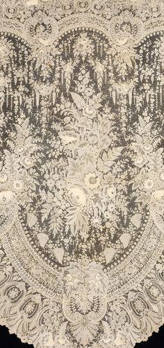 Antique lace.