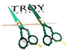 Professional Salon Hair Cutting+Thinning Scissors Barber Shears Hairdressing Set #TroyScissors