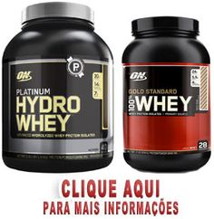 Platinum Hydro Whey e 100% Whey Gold Standard Optimum Nutrition