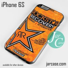 Rockstar Energy Drink Recovery Orange Phone case for iPhone 6/6S/6 Plus/6S plus