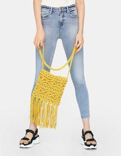 Macrame, Capri Pants, Crossbody Bag, Skinny Jeans, Backpacks, Bags, Shopping, Collection, Fashion
