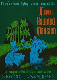 #muppets #hauntedmansion #kermit #misspiggy