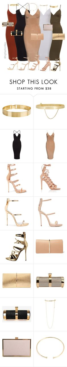"""The Unit"" by highfashionfiles ❤ liked on Polyvore featuring Lele Sadoughi, Eddie Borgo, Club L, Giuseppe Zanotti, Aquazzura, Nina Ricci, Stark, STELLA McCARTNEY, Carvela Kurt Geiger and BaubleBar"
