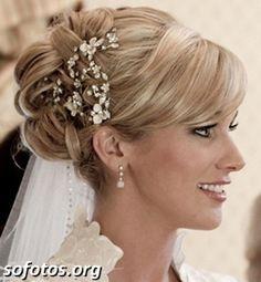 Corte de cabelo para noivas
