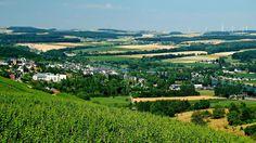 Ein Sommertag im Dreiländereck , ... hat fast etwas mediterranes. Und wenn man Rheinland-Pfalz dazu nimmt, ist es ein Vierländereck. :-)