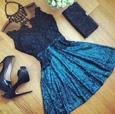 #vestido #noivado #azul