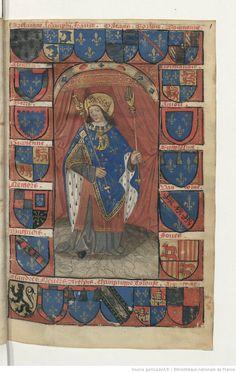 Traité de blason, 1401-1500, c.1r, Bibliothèque nationale de France, Département des manuscrits, Français 14357