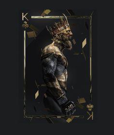 """King"" Conor McGregor art by @bosslogic"