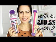 DIY: VOLTA ÀS AULAS |ESTOJOS| (PARTE 2) - Paula Stephânia - YouTube