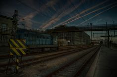 #train #trainstation #hdr #photography #photoshop #nikon #nikond3200 #sky #city #hk #old #steampunk