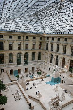 Louvre, Cour Marly, Paris I