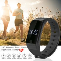 X7 Bluetooth Sport Smart Watch Waterproof Smartwatch Heart Rate Monitor Smart Band Swim Bracelet for Android IOS PK ID107