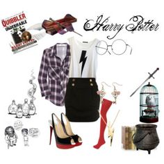 Harry Potter Characters as women :) - Polyvore