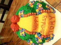 Wizard of Oz cake I made.
