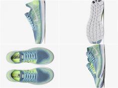 ba678527d9772 New Arrival Nike Free RN Flyknit 2018 Womens Running Shoe Blue Moon Mica Blue  Ghost Green White