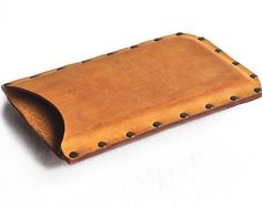 riveted leather case