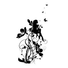 Resultado de imagen para vinilos de mariposas y hadas                                                                                                                                                      Más
