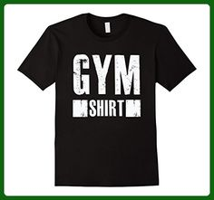 Mens Gym Shirt - Funny Workout Exercise Fitness T Shirt Small Black - Workout shirts (*Amazon Partner-Link)