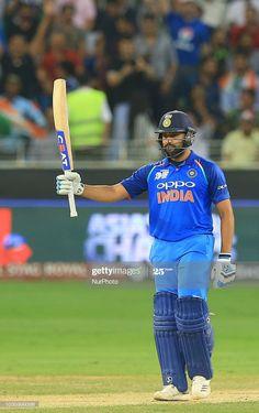 News Photo : Indian cricket captain Rohit Sharma celebrates... Asia Cup 2018, Space Phone Wallpaper, India Cricket Team, Mumbai Indians, Wallpaper Naruto Shippuden, Cricket Match, India Beauty, Hd Photos, Beauty Women