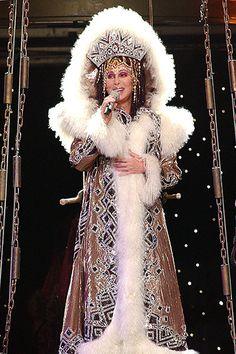 Cher looks regal even when she's al...