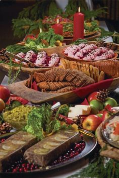 Christmas Eve Menu Ideas For Buffet.45 Best Christmas Dinner Buffet Ideas Images In 2019