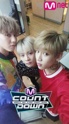 GOT7 Yugyeom, Jackson & BamBam // Mnet Countdown - 'Just Right' Comeback 07.16.15