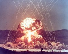 Atomic explosion at Yucca Flats
