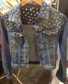 b8b0f27ed4e 15 Best Inspiration board: studded denim jacket images in 2013 ...