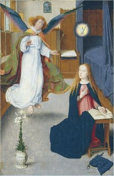 The Annunciation Gerard David Detroit Institute of Arts Michigan