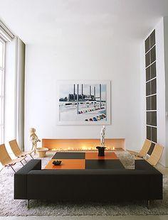 contemporary living room by Shinberg Levinas Architectural Design resibids.com