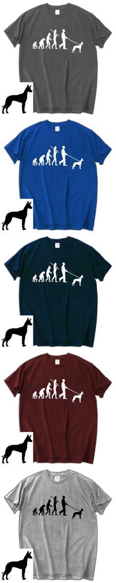 dog lover birthday gift tops Pharaoh Hound Dog Evolution of man Tee shirt shubuzhi fashion cotton tshirt black tees 10 colors