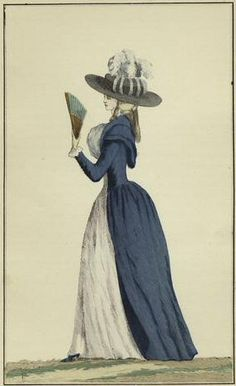 1790s redingote with amazing hat