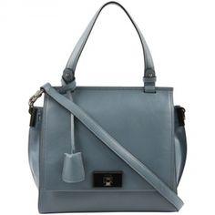 MONTREUX pigeon Bag I Tasche I Handtasche I Schultertasche I blue I blau I Taubenblau